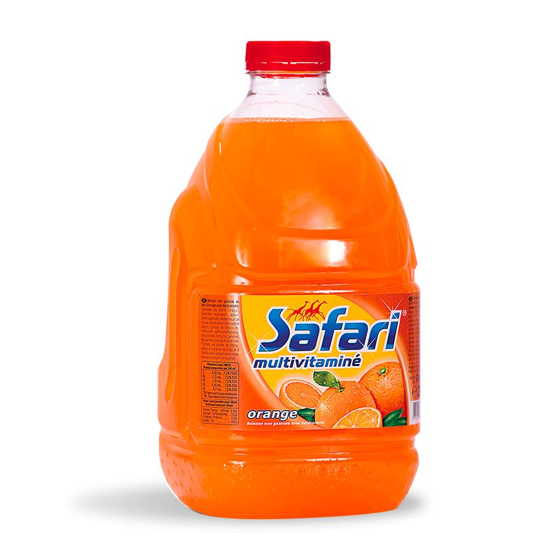 Safari Orange Pet 3l