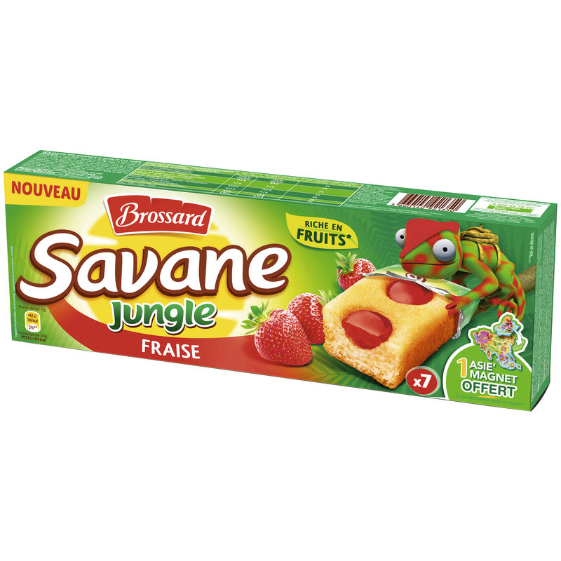 Bros.savane Jungle Fraise175g