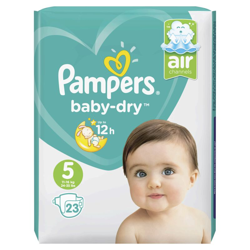 Pampers Baby Dry Paquet T5x23