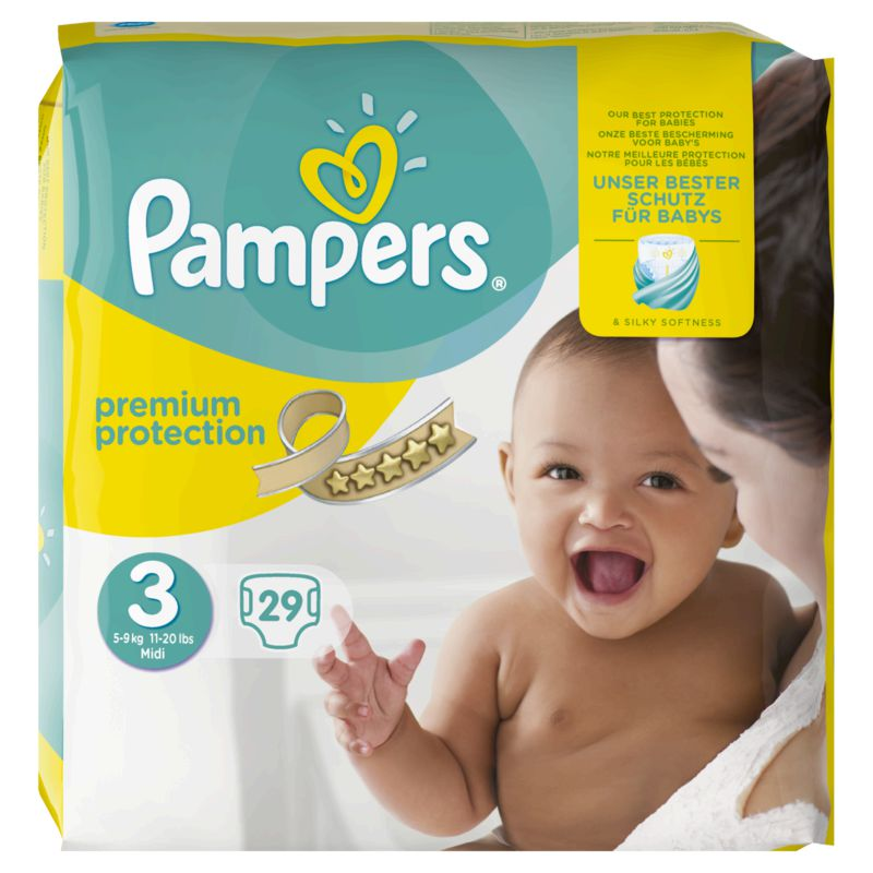 Pampers New Baby Paquet T3x29