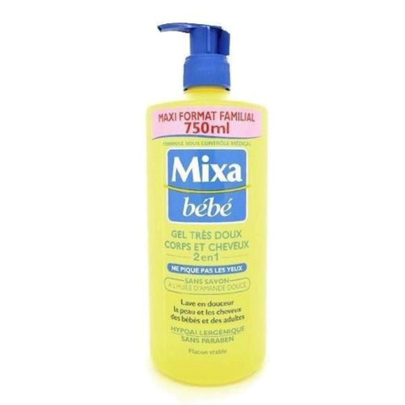 Mixa Bb Gel Corps Chev.750ml