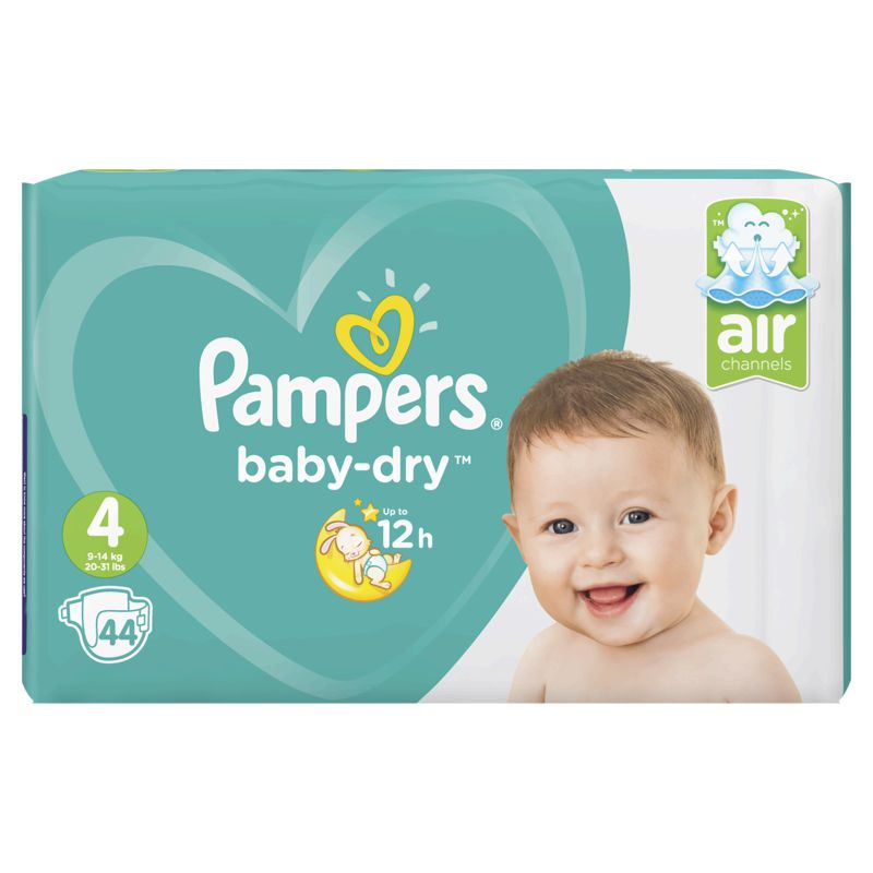 Pampers Baby Dry Geant T4x44
