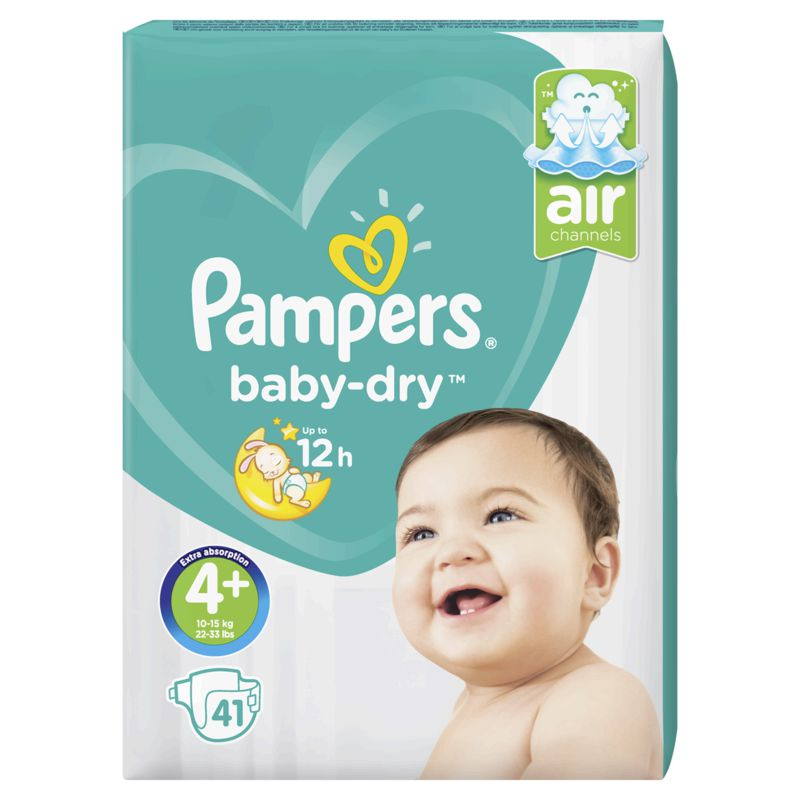 Pampers Baby Dry Geant T4x41