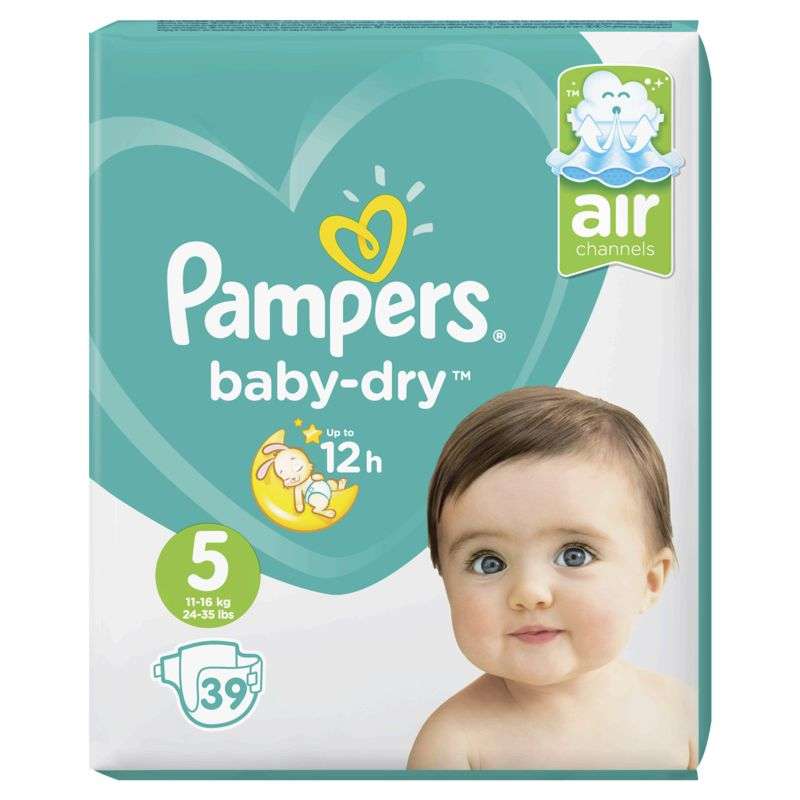 Pampers Baby Dry Geant T5x39