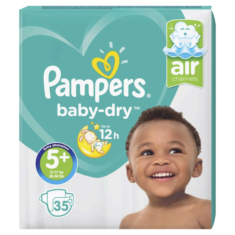Pampers Baby Dry Geant T5x35