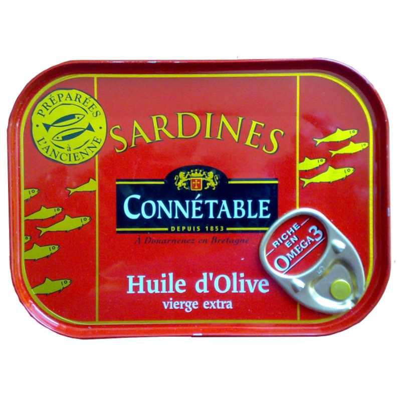 Sardine Ho Ve Connetable 115g