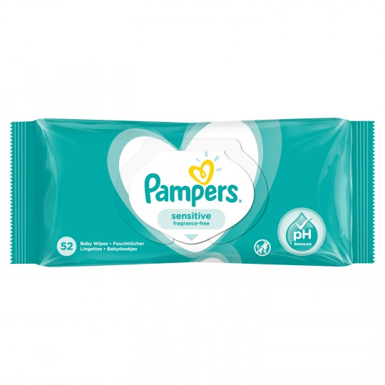 Pampers Linget.sensitive X52