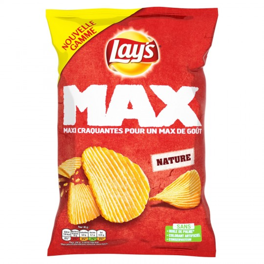 Chip Lays Max Nature 120g