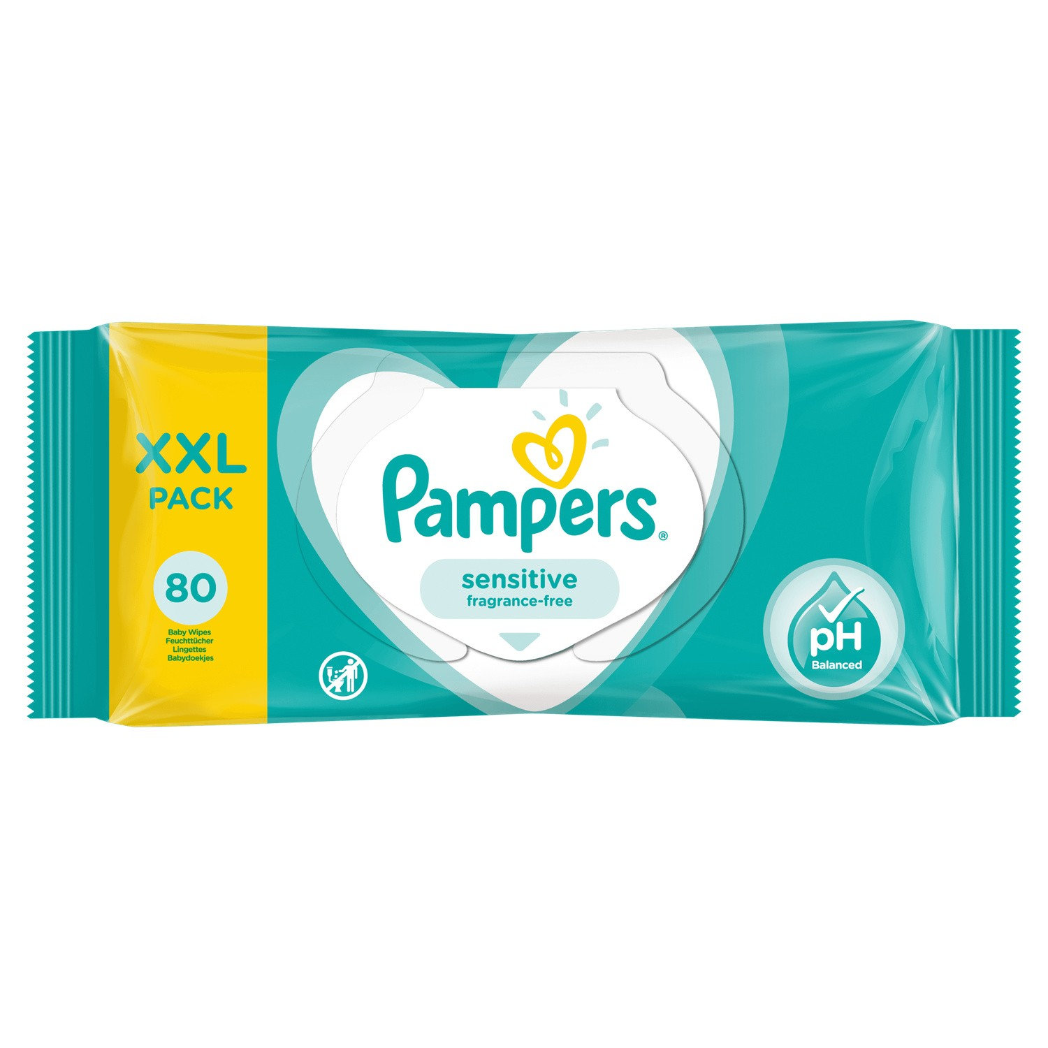 Pampers Lingettes Sensitive 1x