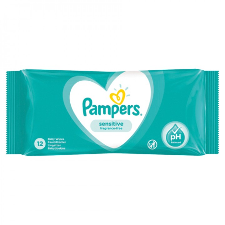 Pampers Lingettes Sensitive Ec