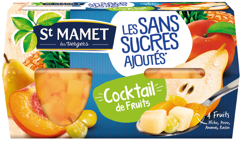 St Mamet Cocktail Fruit Ssa 4x
