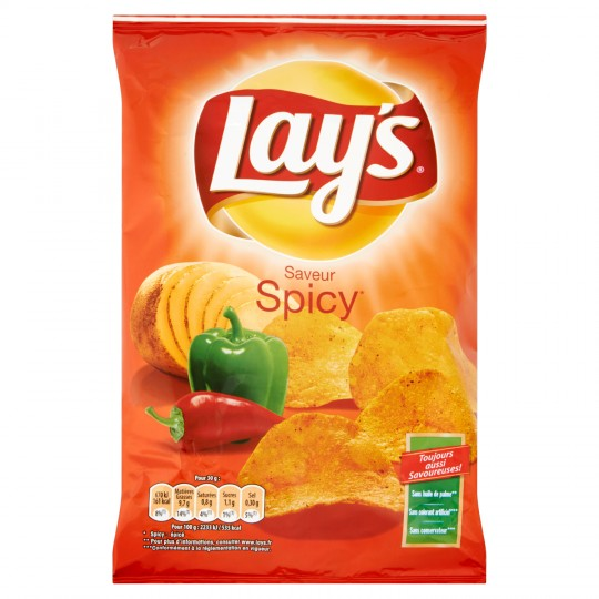 Chips Lay's Spicy Famil.240g