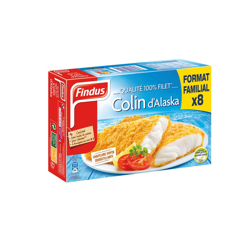 8 Filets Panes Colin Ff 680g