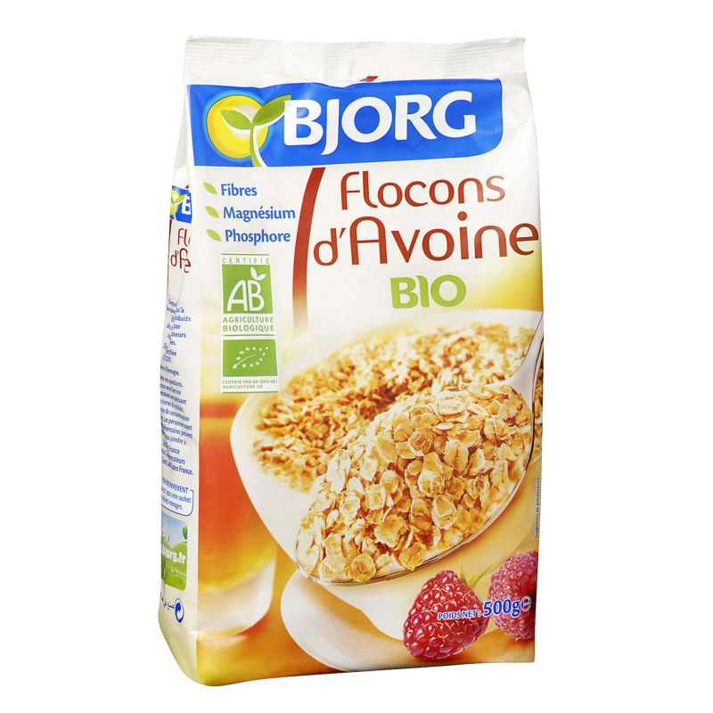 Flocon D'avoine 500g Bio
