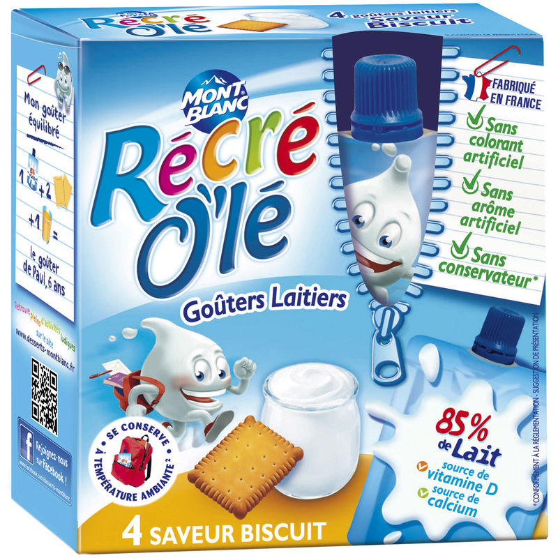 Recre Ole Biscuits 4x85g