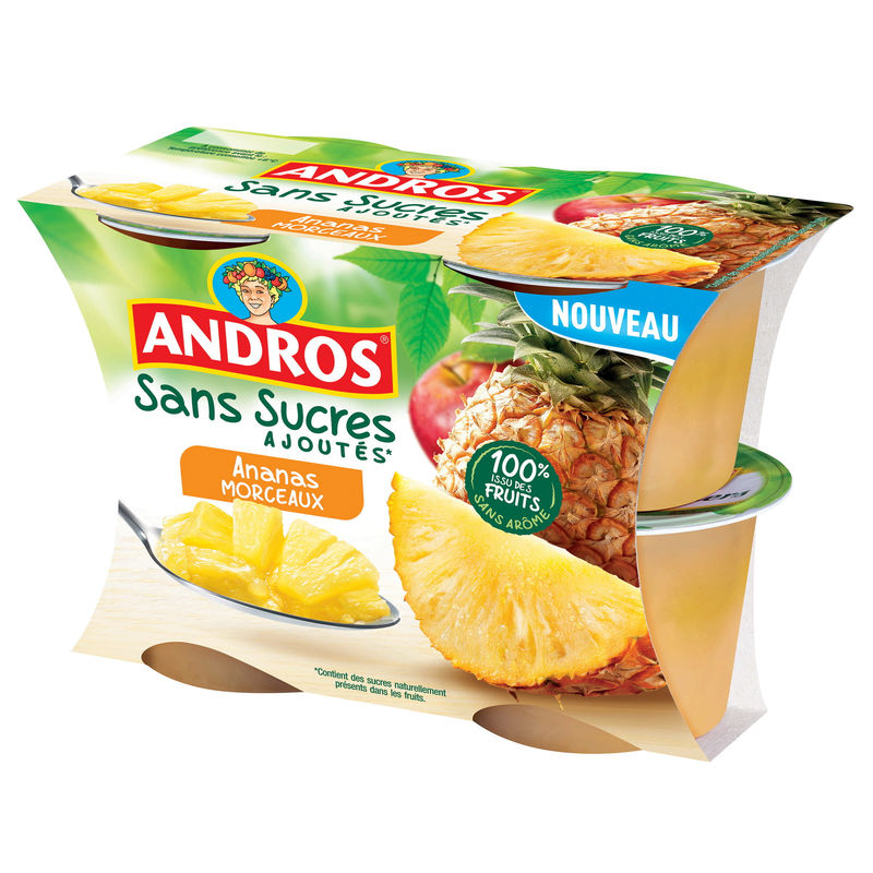Andros Ananas Morc. Ssa 4x97g