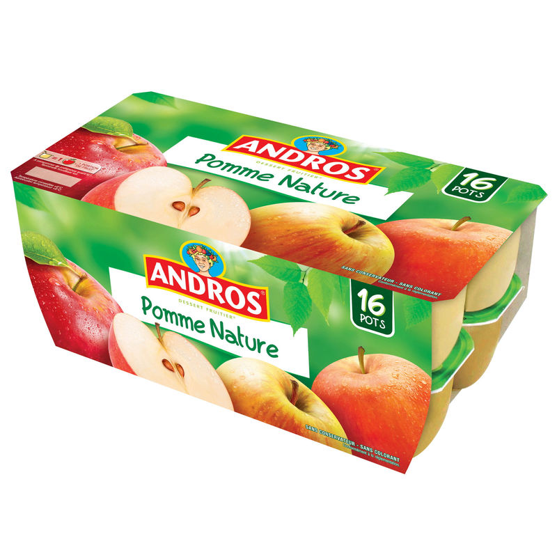 Andros Df Pomme Nat.16x100g