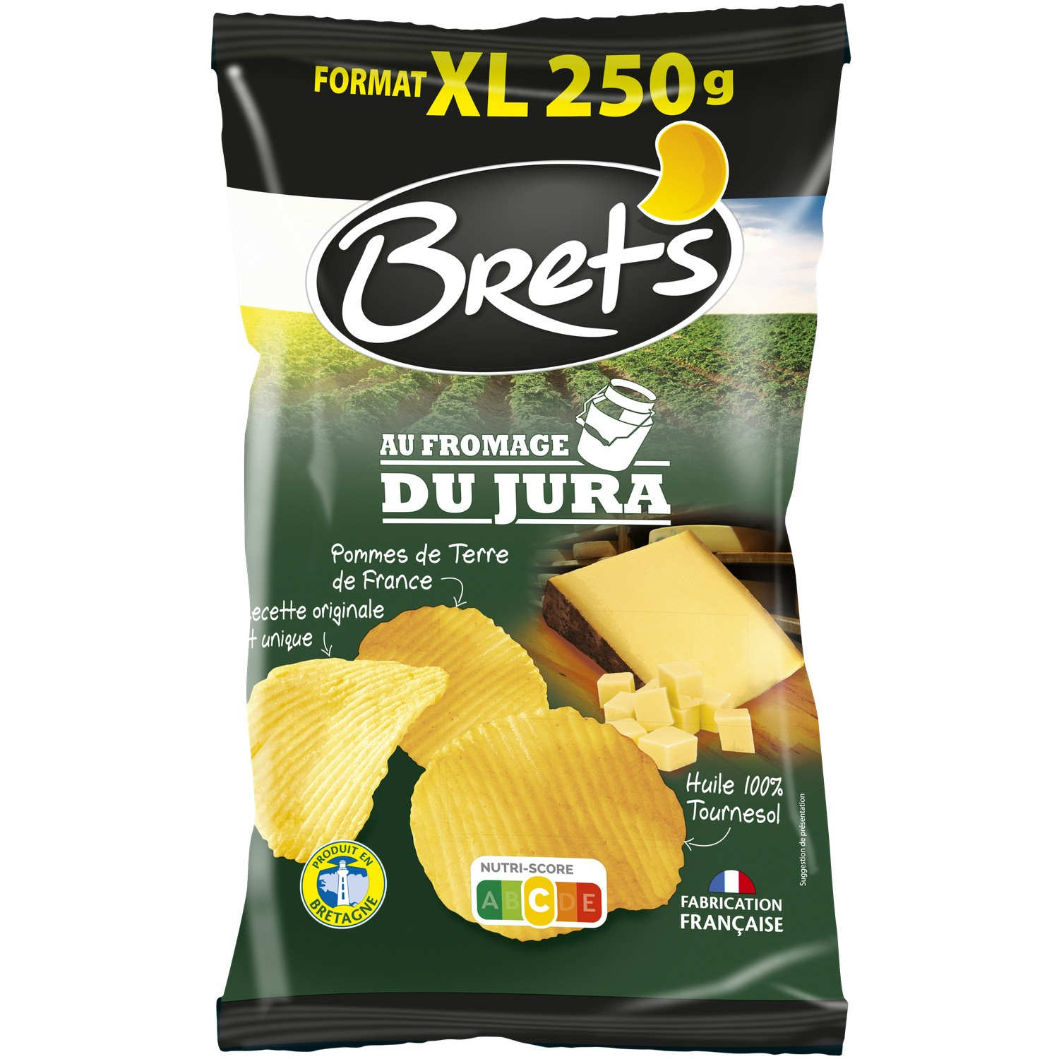 Chips Fromage Jura 250g