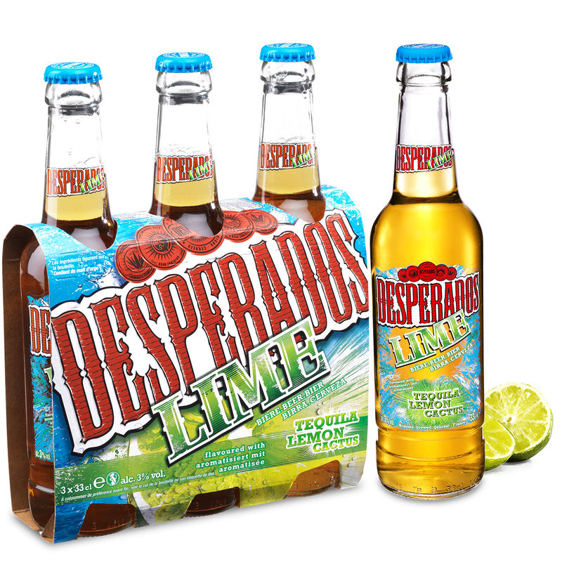 Desperados Lime 3d Btle 3x33cl