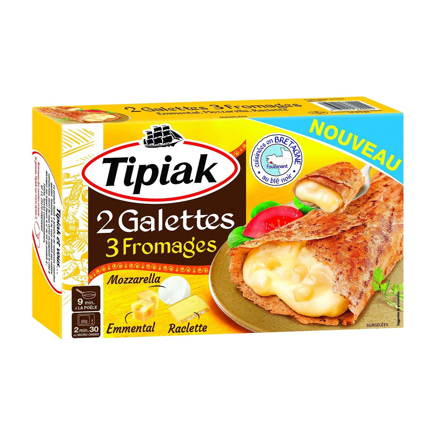 Galettesx2 3 Fromages 250g