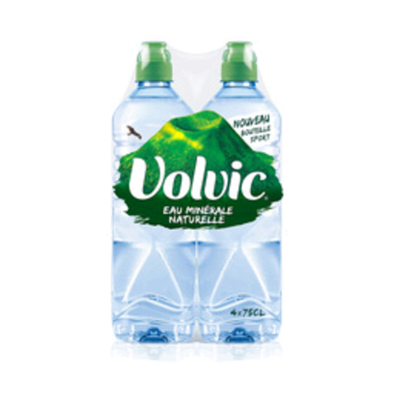 Volvic Nature 4x75cl Pack