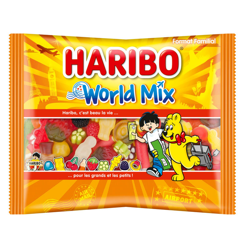 Haribo World Mix 500g