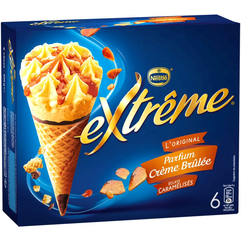 Ext Creme Brulee X6 443g