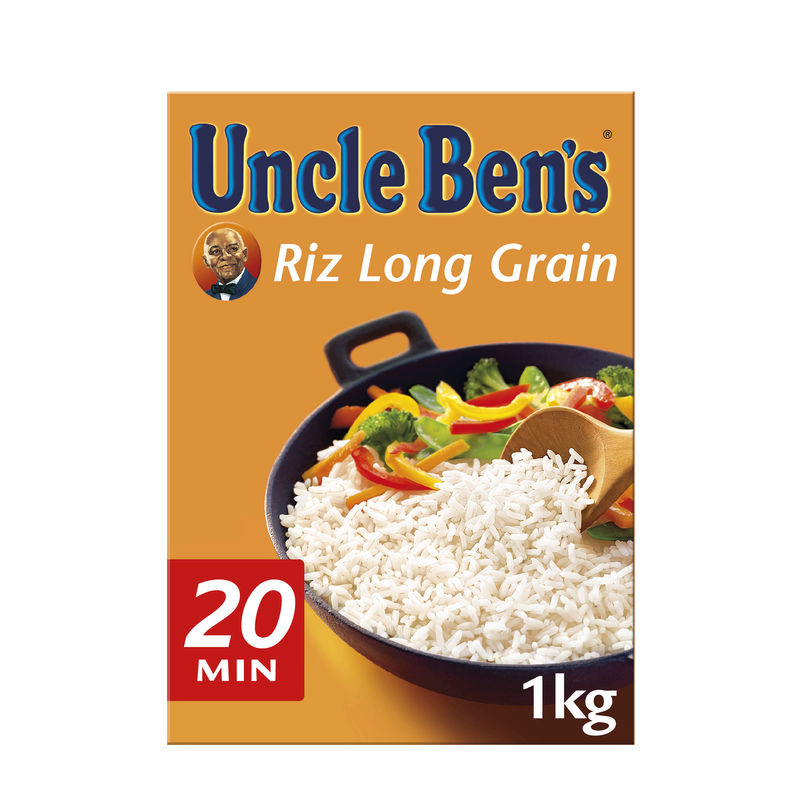 Riz Long grain Uncle ben's 1 kg