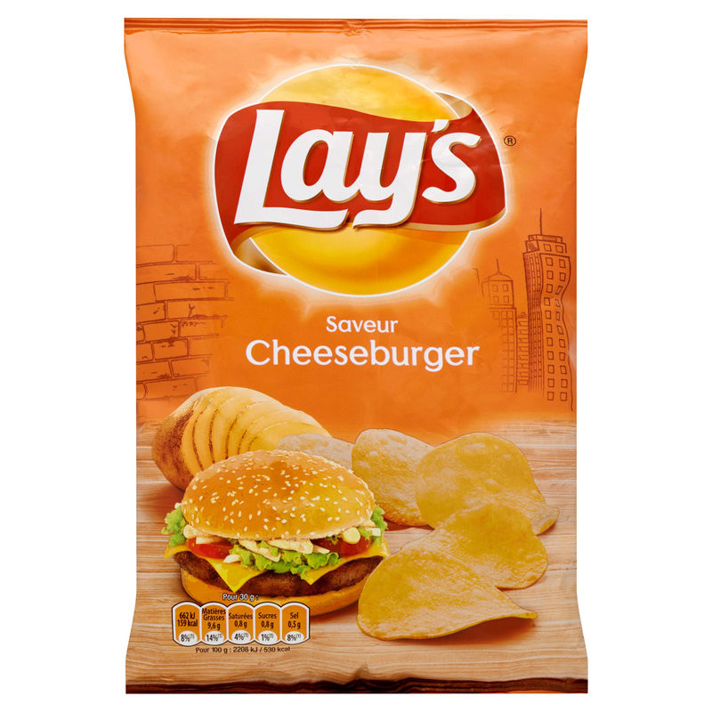 Chips Lays Giant 120g