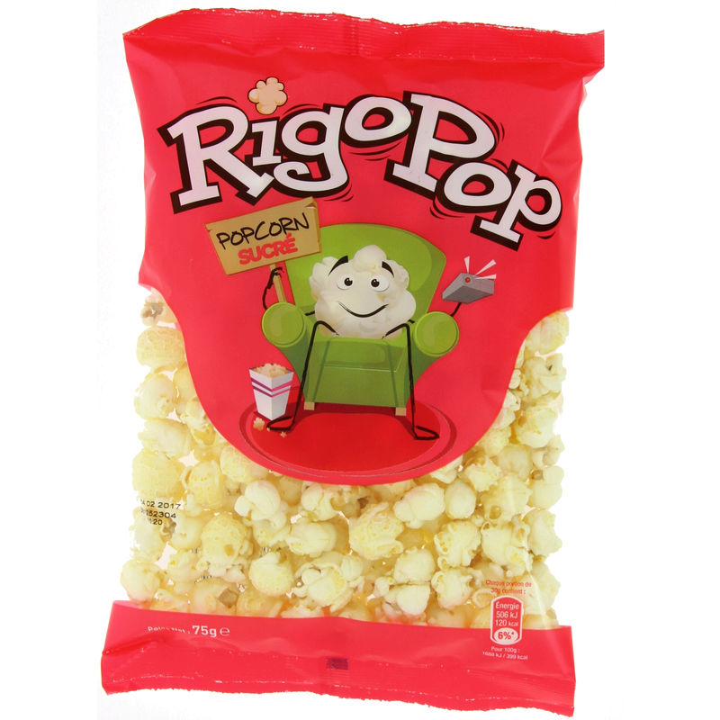 Pop Corn Sucre Rigopop 75g