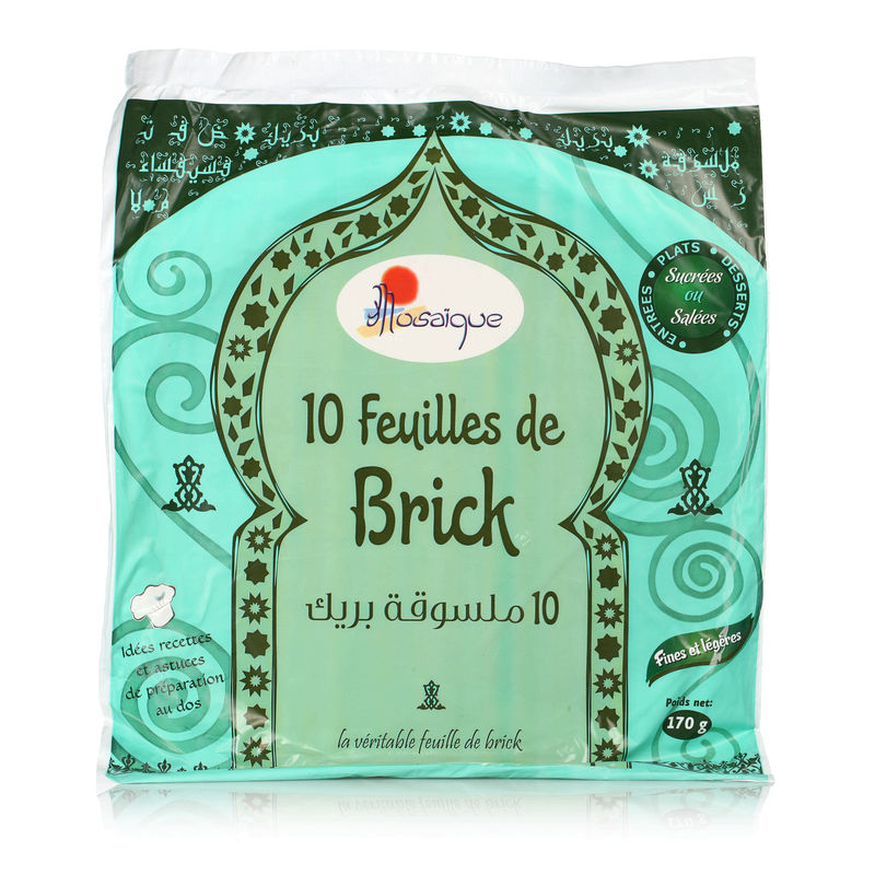 Feuille Brick 170g Mosaique