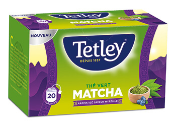 Tetley The Vrt Matcha 20s 42g