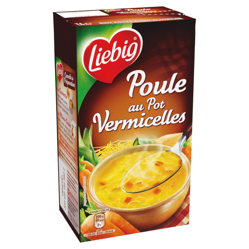 Potage Poule Pot Liebig 1l