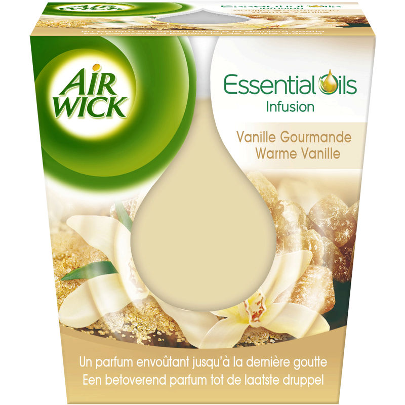 Air Wick Bougie Ess Oil Vanill