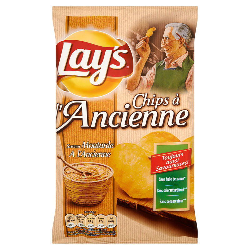 Lays Ancienne Moutarde 120g