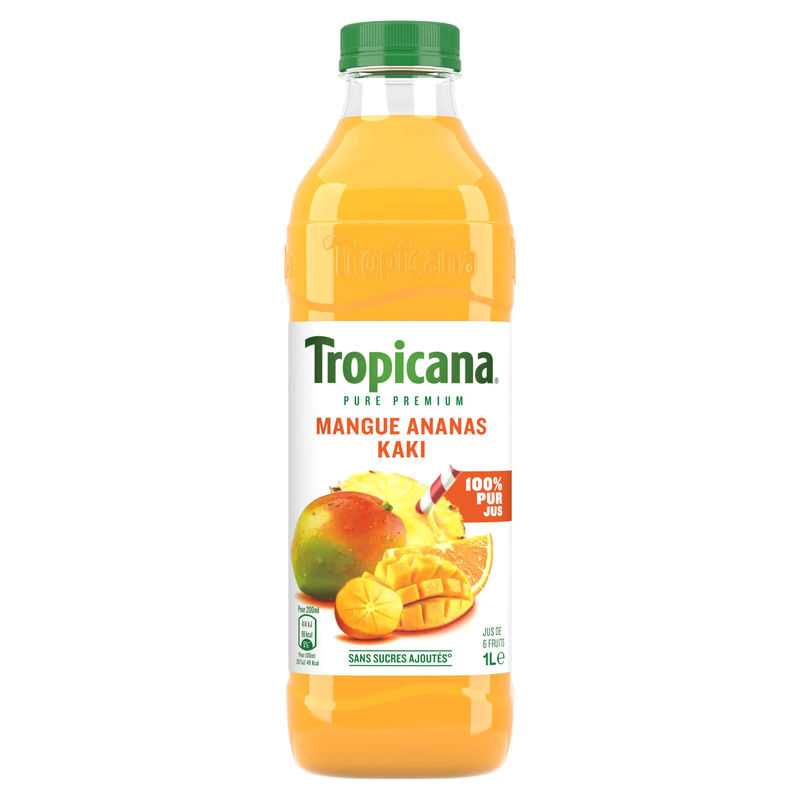 Tpp Mangue Ananas Kaki Pet 1l