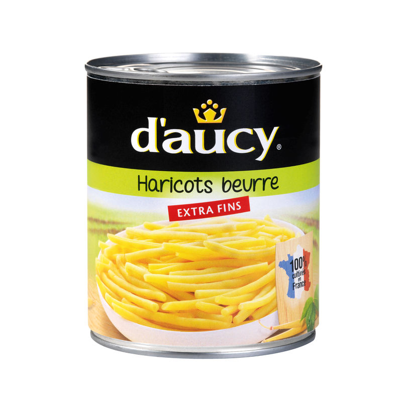Haricot Beurre Ef Daucy 440g