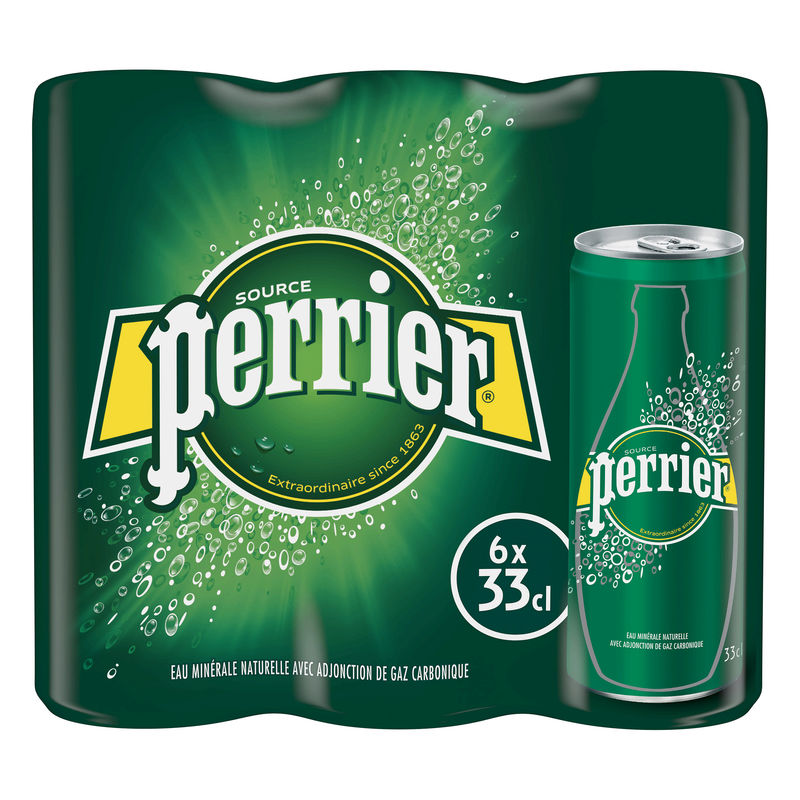 Perrier Slim Can 6x33cl