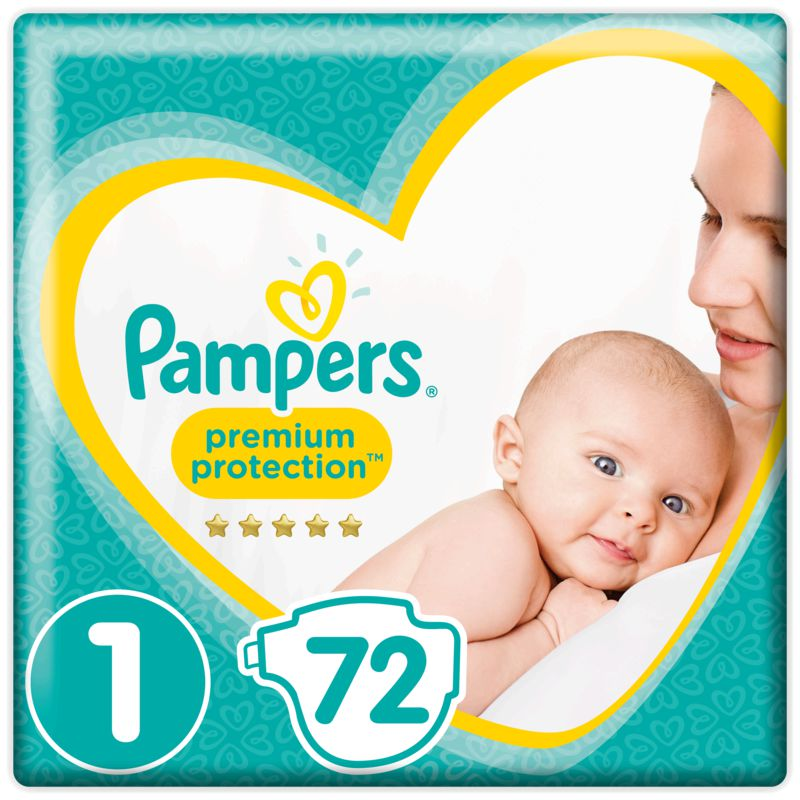 Pampers New Baby Value +t1 X72