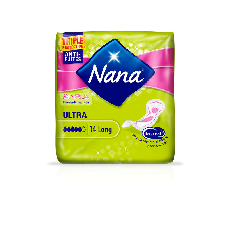 Serviette Nana Ult.long X14