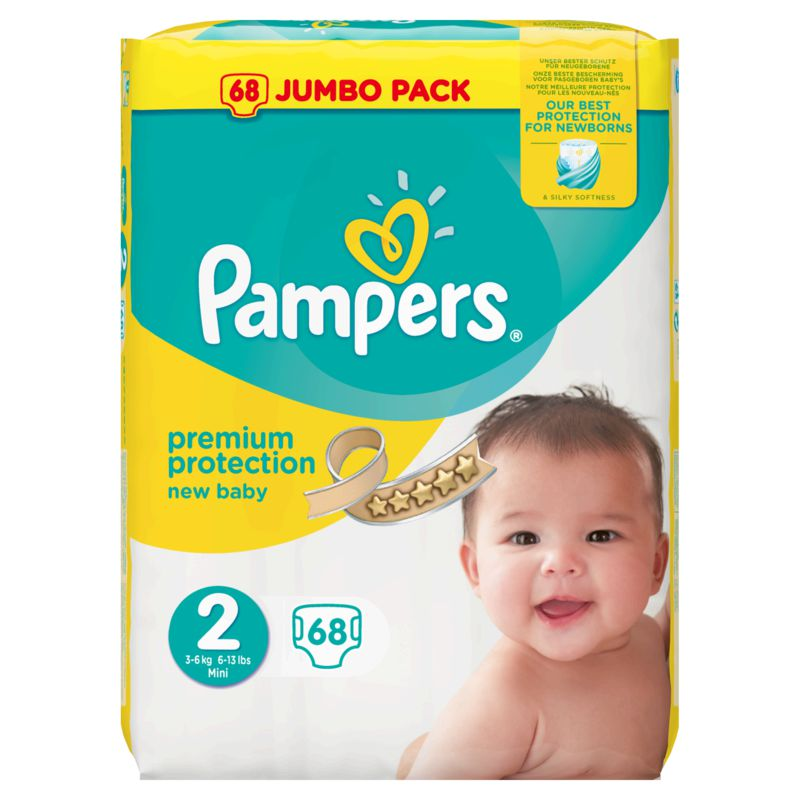 Pampers New Baby Value +t2 X68