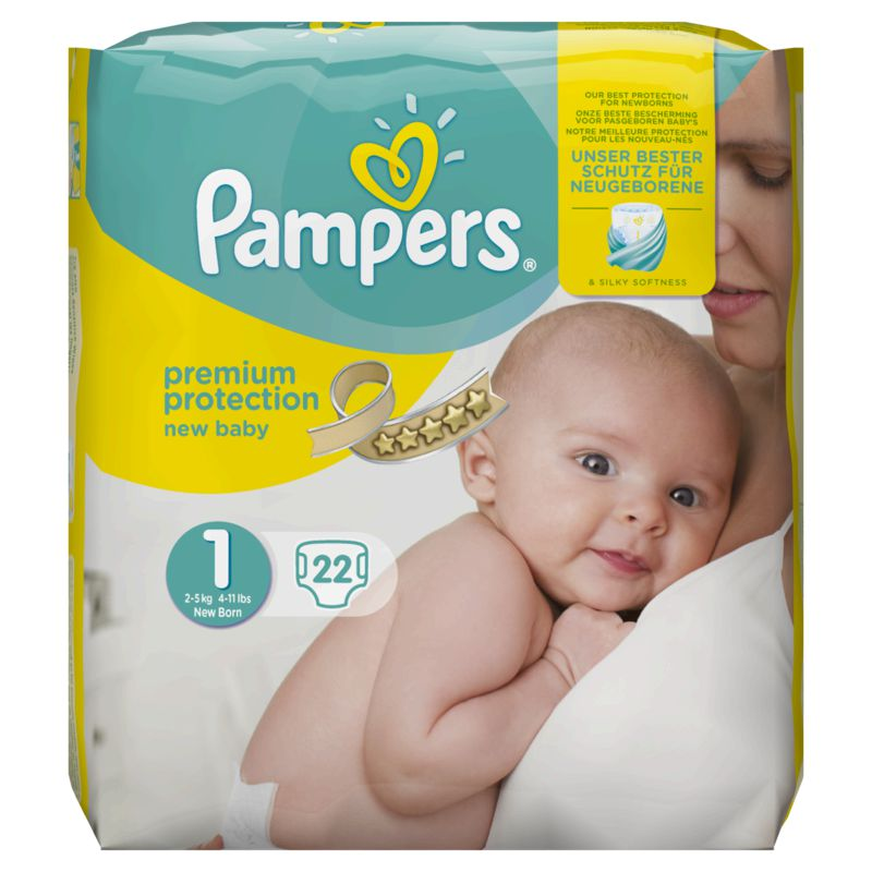 Pampers New Baby Paquet T1 X22