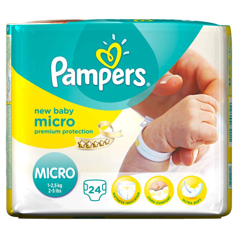 Pampers New Baby Paquet T0 X24