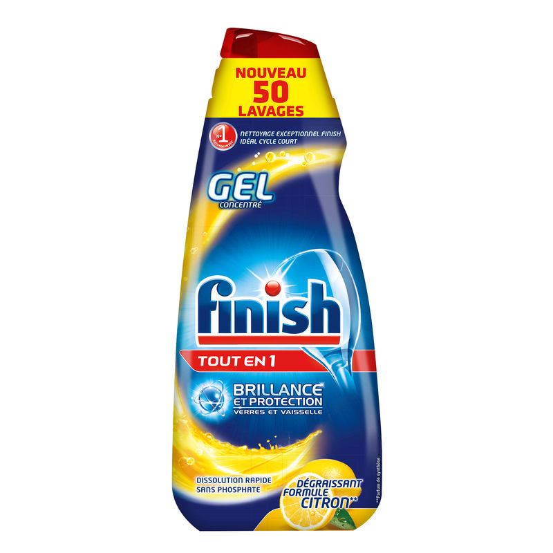 Finish Gel Tout En 1 Citron 1l