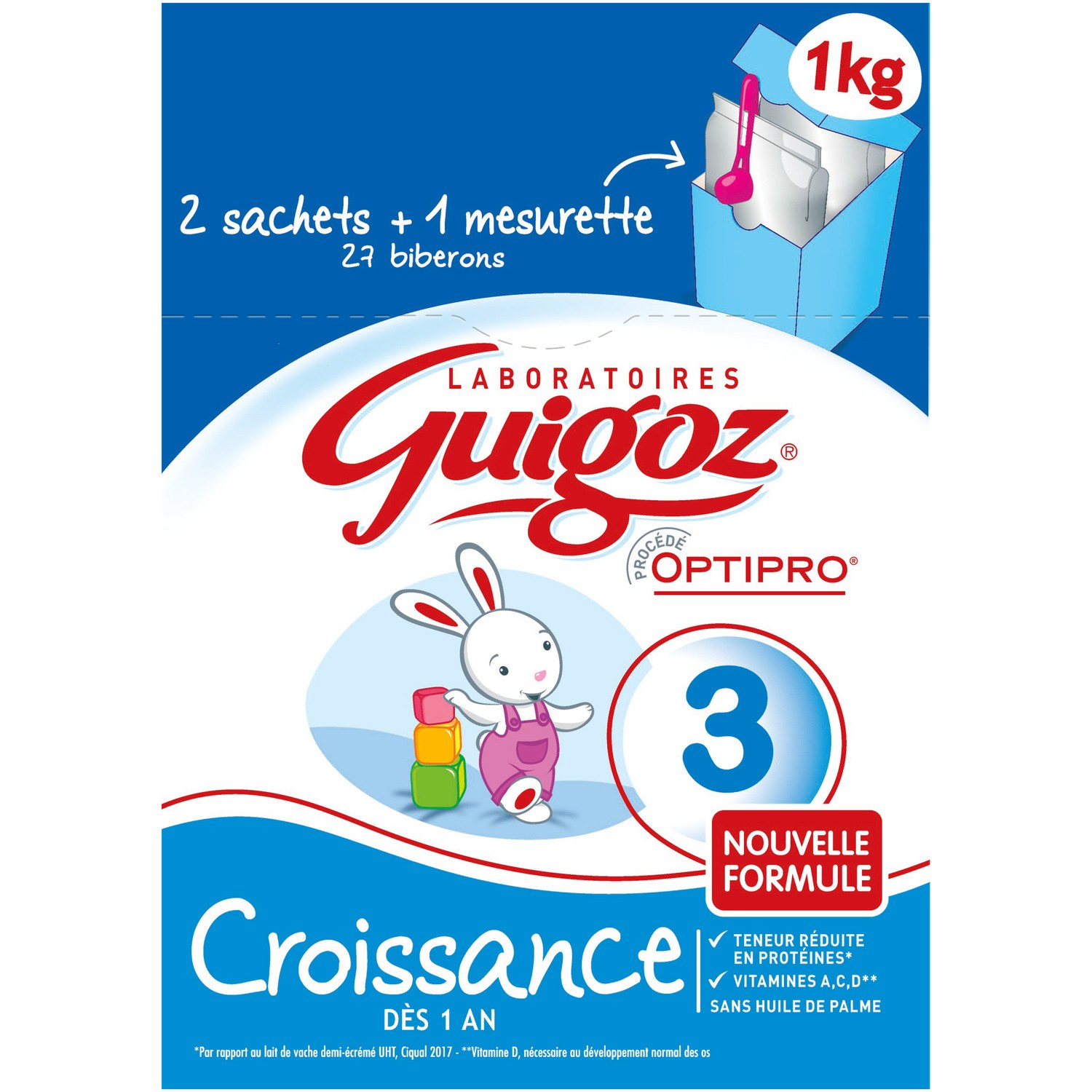 Guigoz Croissance Bag In Box 2