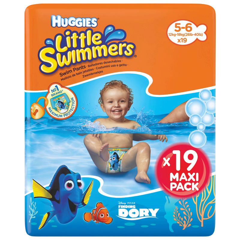 Huggies.swim.maxipak.t5/6 X19