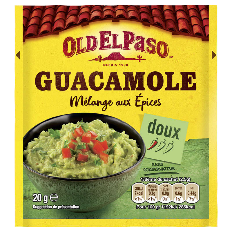 Guacamole Season Mix Oep 20g