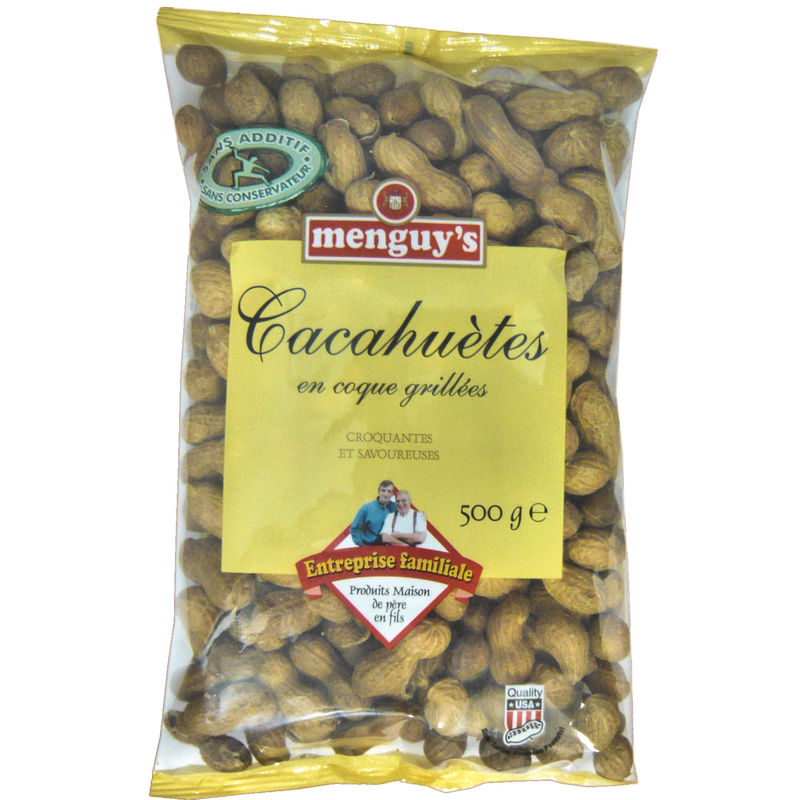 Cacahuetes Coque 500g Menguys