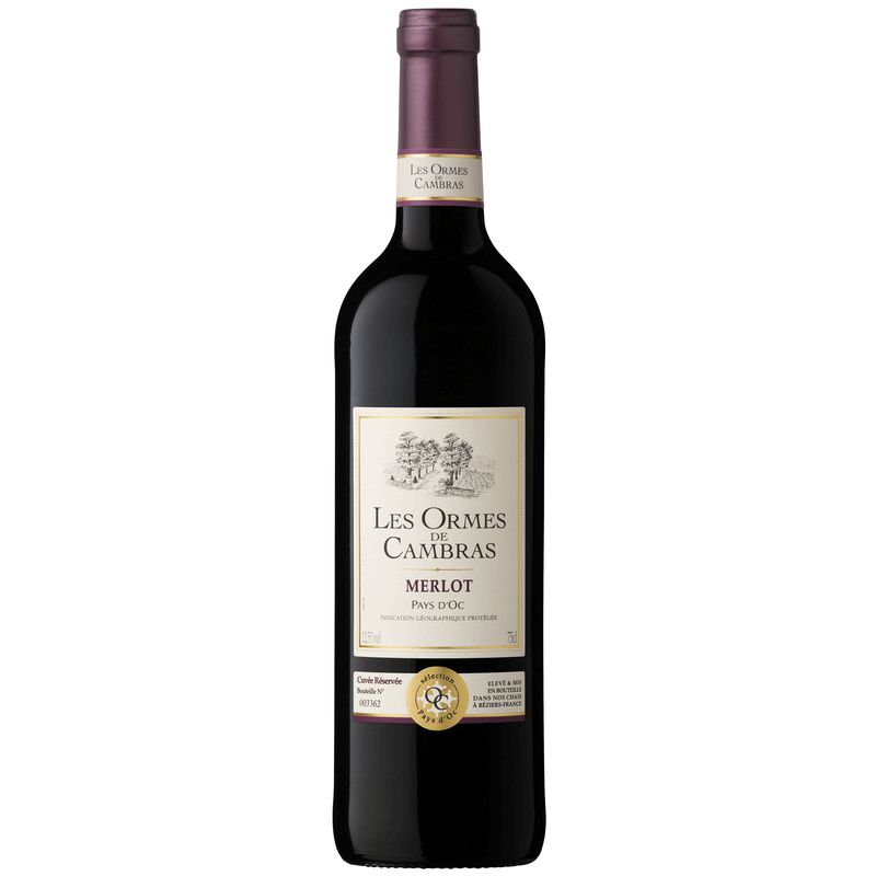 Igp Merlot Orm.cambras Rg 75cl