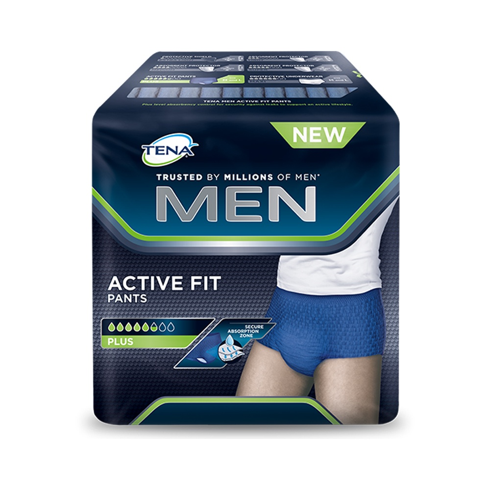 Tena Men Active Fits Largex8